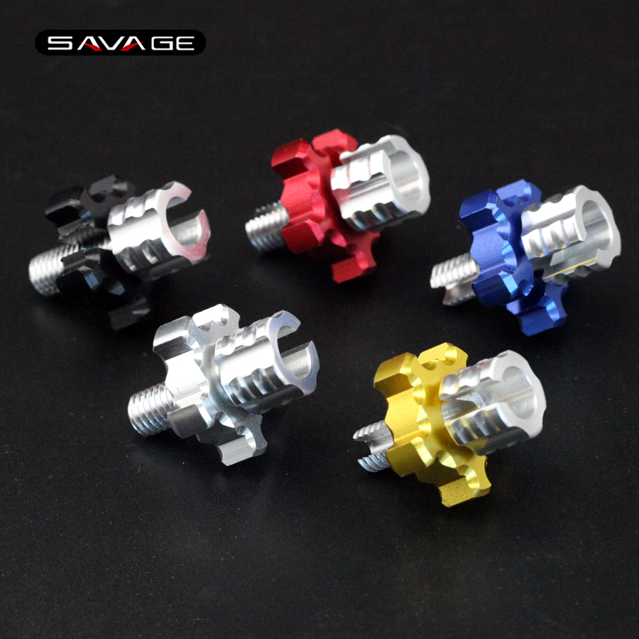 For SUZUKI DL 650 v-strom GSF 600/650 BANDIT GSR 600/750 GSXS750 GSX650F Motorcycle CNC Clutch Cable Wire Adjuster Screw M8*1.25 suzuki dl650a v strom б у
