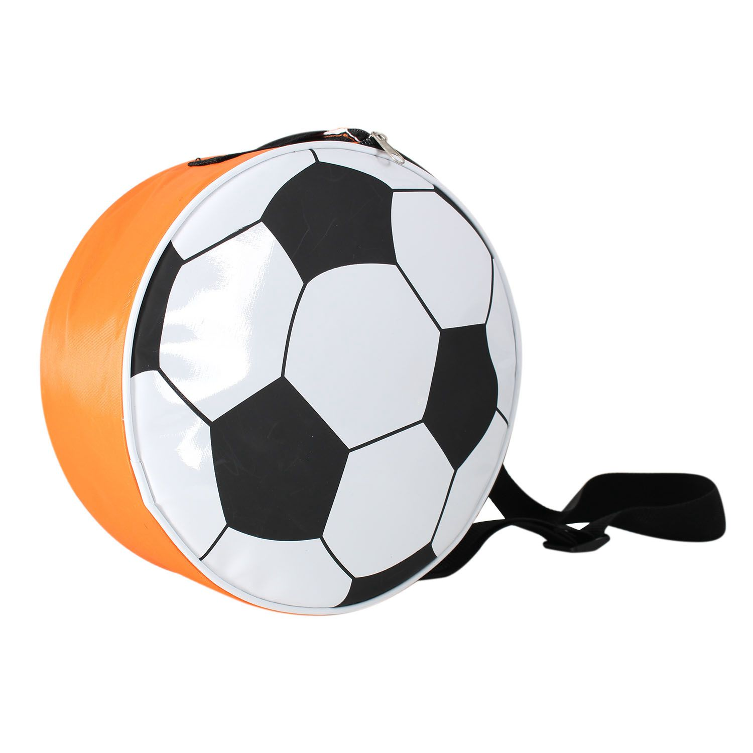 Insulated lunch bag shaped like a soccer ball Kids Soccer Carry Bag Novelty Lunch Ball by Sport