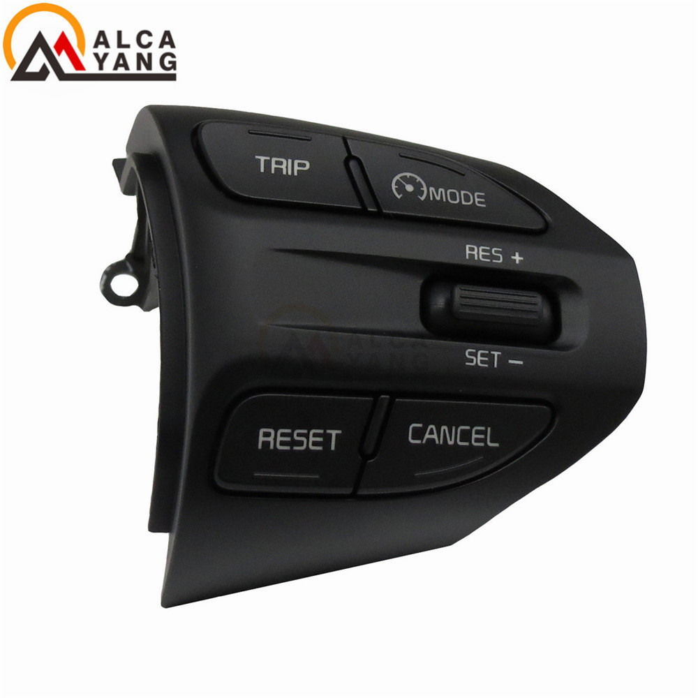 Image 2 - Steering Wheel Button For KIA K2 RIO 2016 2017 2018 Buttons Bluetooth Phone Cruise Control Volume-in Car Switches & Relays from Automobiles & Motorcycles