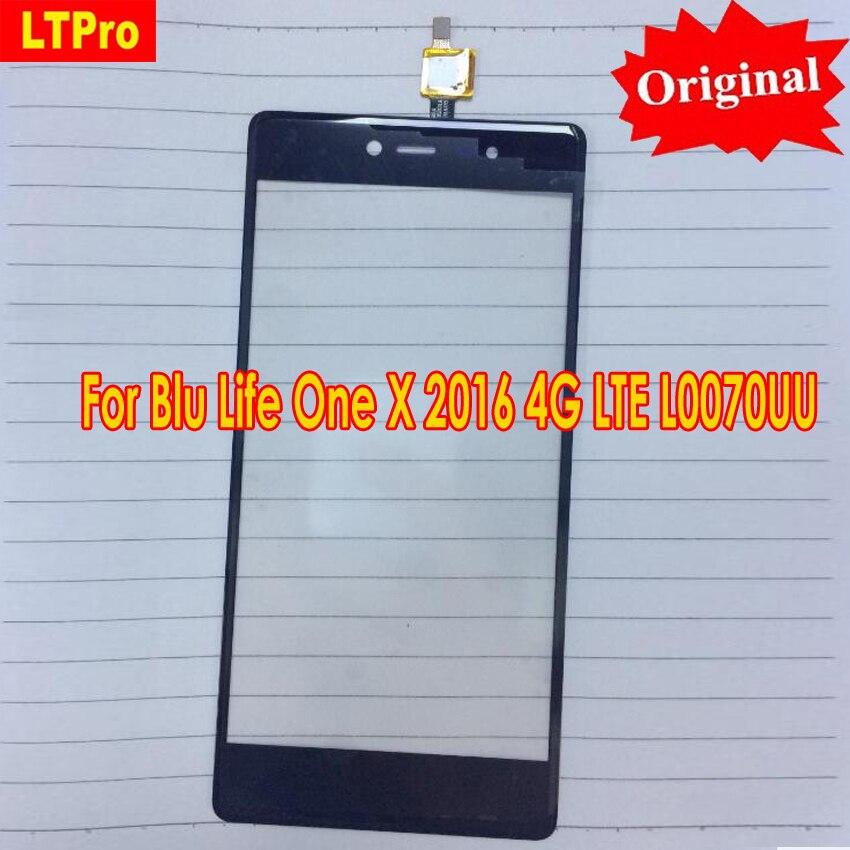 LTPro Ursprüngliches Neues Touchscreen Digitizer Für Blu Life One X 2016 4G LTE L0070UU Frontplatte glas Telefon Hohe qualität