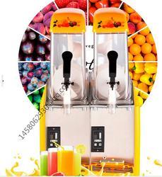 Дешевые хороший двойной бак используется Слякоть Машина Маргарита слякоть Замороженные напитками