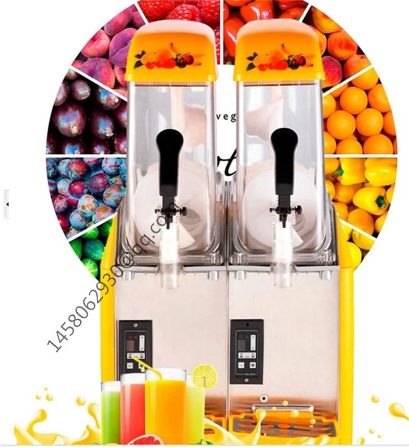 Cheap Good Double Tank Used Slush Machine Margarita Slush Frozen Drink Machines  цена