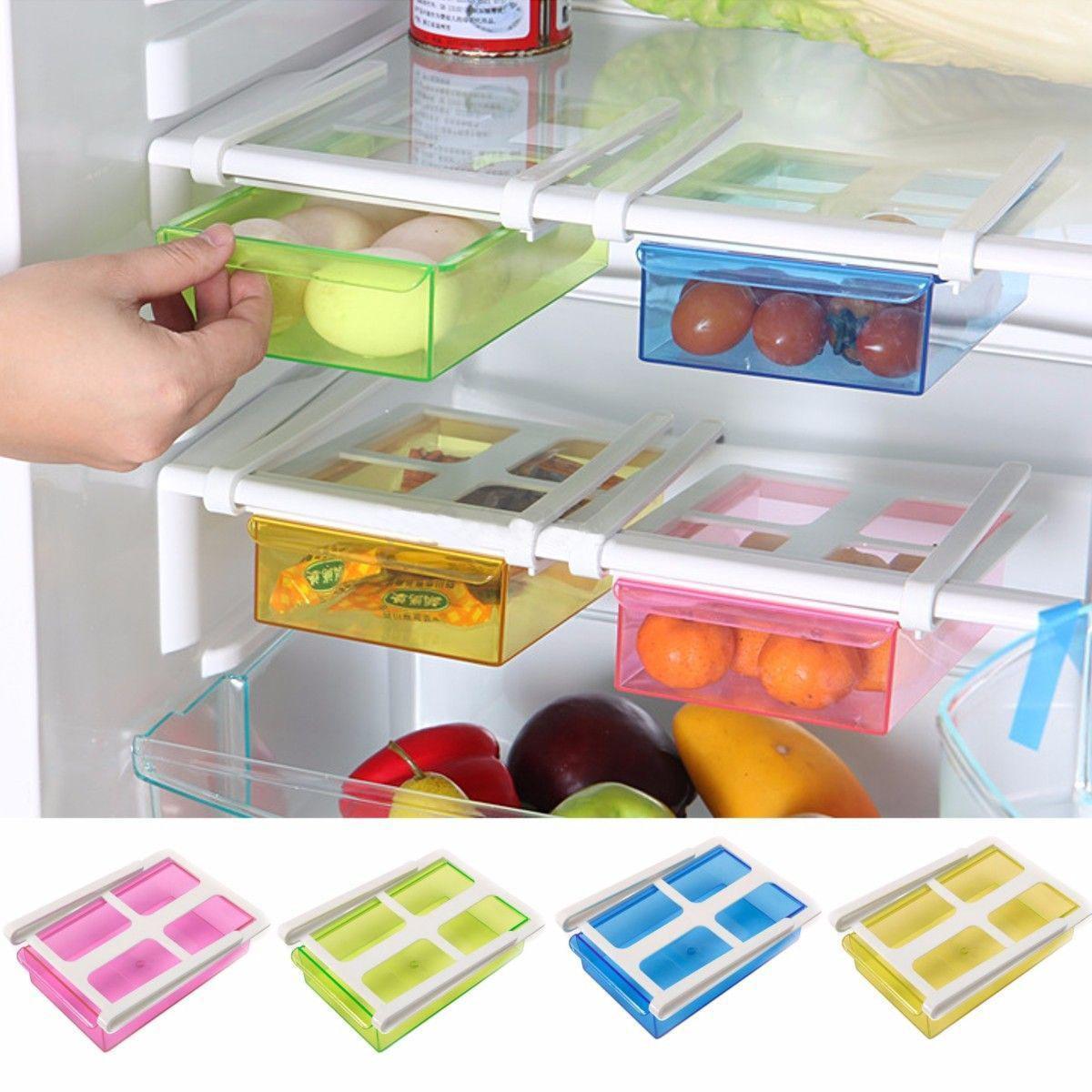 Kitchen Space Saver Slide Kitchen Fridge Freezer Space Saver Organization Storage