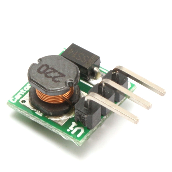 Mini DC-DC 0.8-5V To DC 5V Step-Up Boost Power Module Board For Arduino
