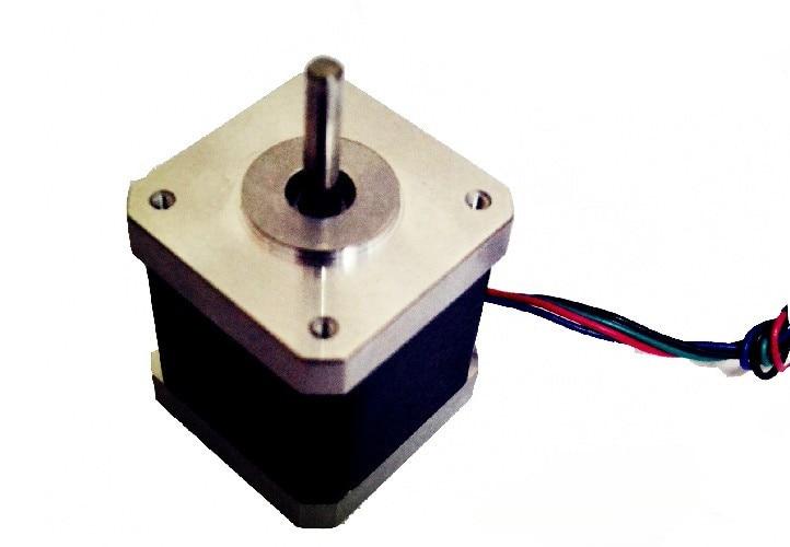 3 D printer/carving machine/robot 42 stepper motor 2 phase hybrid stepper motors 48mm 1.3A torque:0.52NM NEMA17 standard