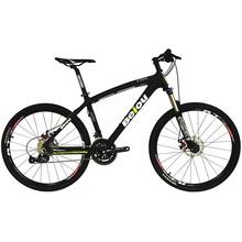 BEIOU węgla XC rower górski 26-Cal kompletny MTB 27 prędkości S H I M A N O 370 Toray T700 z włókna błyszczący kolorowe CB004 tanie tanio Ze stopu aluminium ze stopu aluminium Z włókna węglowego 1 33 Ropy naftowej i gazu widelec (sprężystości powietrza olej tłumienia)