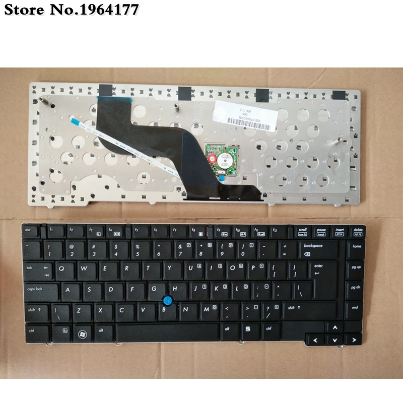 English Laptop Keyboard For HP 8440P 8440W 8440 US Black New Keyboard