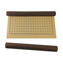 BSTFAMLY Go Chess 19 Road Chessboard 50*46*0.1cm PU and Plush Checkerboard Old Game of Go Weiqi For 2.2cm Piece Checker GB08 bstfamly go chess 19 road chessboard 50 46 0 1cm pu and plush checkerboard old game of go weiqi for 2 2cm piece checker gb08