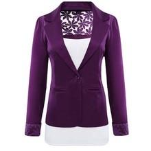 Plus Size Xxl Women Blazers And Jackets Basic Coats Female Hollow Out Blaser Jaqueta Feminina Femme Plus Size Work Wear Suit