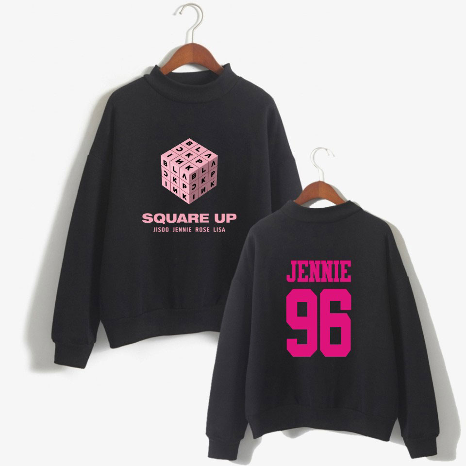 2018 Blackpink <font><b>K</b></font> <font><b>Pop</b></font> Women Hoodies Sweatshirts Outwear Hip-Hop Blackpink Print Mens <font><b>K</b></font>-<font><b>Pop</b></font> Hoodies Sweatshirts Clothes image