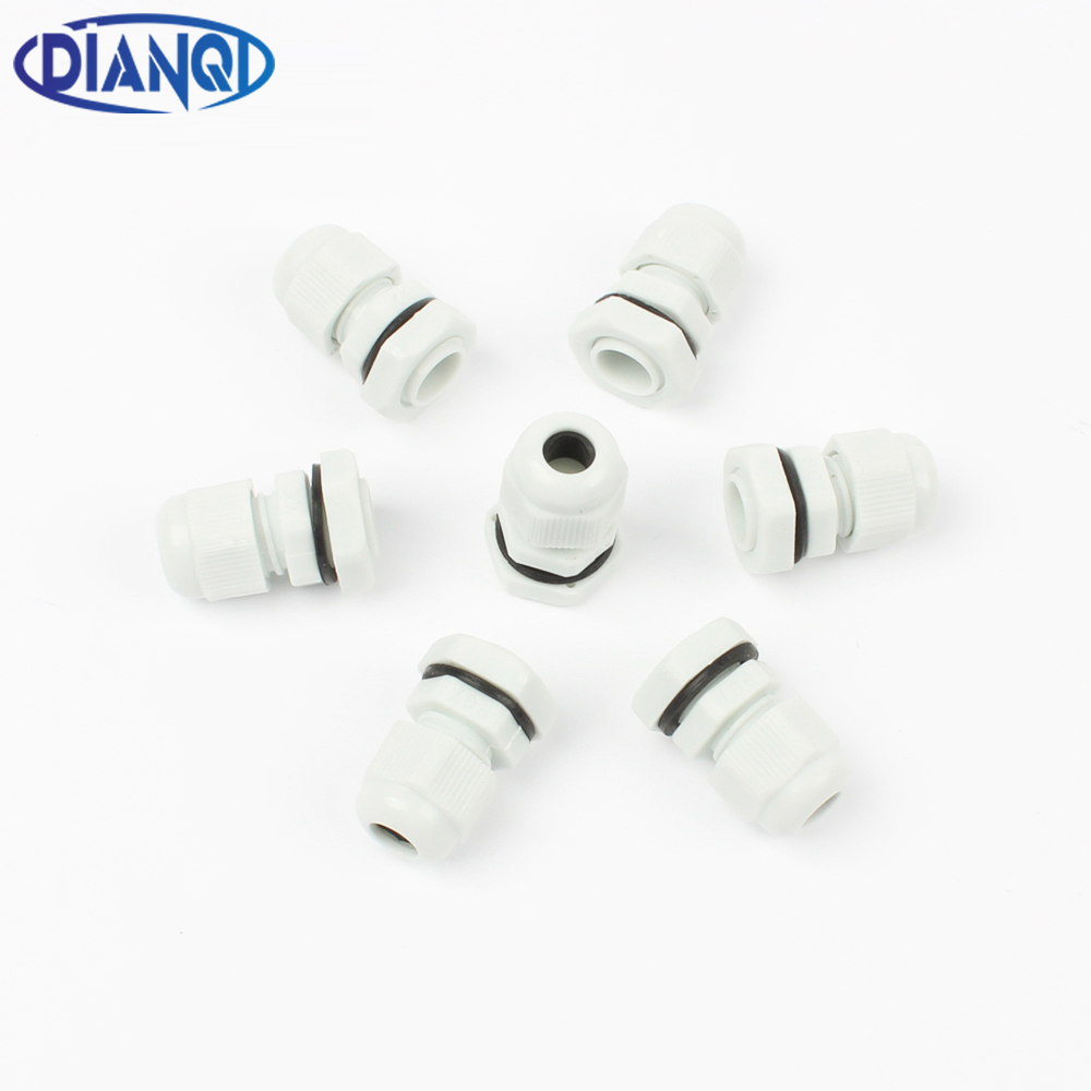 High Quality IP68 PG7 3-6.5MM Waterproof Nylon Cable Gland Waterproof Gasket Plastic Cable Gland
