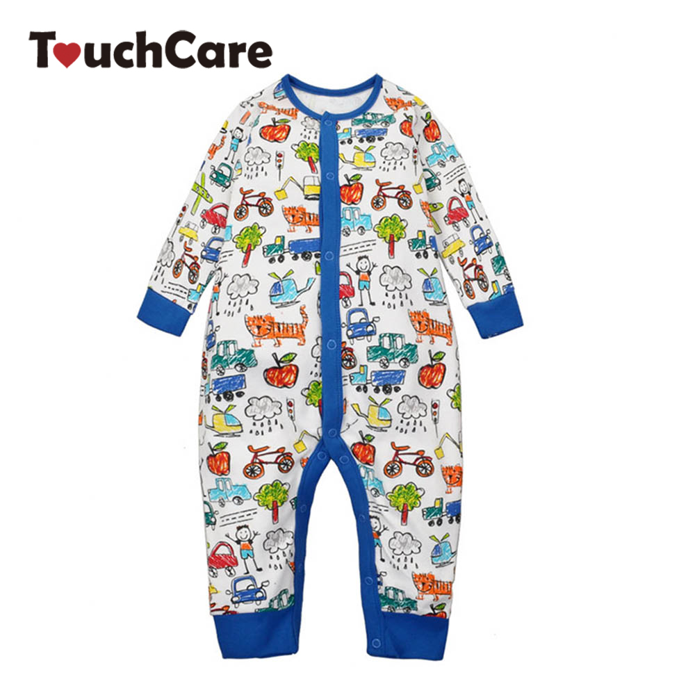 Newborn Cotton Cartoon Cute Animals Baby Rompers Long Sleeve Soft Colorful Toddler Baby Boy Girl Clothes Kids Jumpsuit baby romper newborn infant long sleeve cartoon animals rompers cotton wool baby clothing baby boy girl cute one pieces jumpsuit