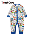 Newborn Cotton Cartoon Cute Animals Baby Rompers Long Sleeve Soft Colorful Toddler Baby Boy Girl Clothes Kids Jumpsuit