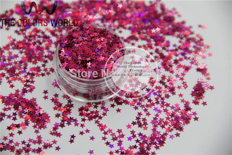 12 holográfica Estrelas paillette lantejoulas Forma para