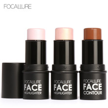 Focallure 3D Face Bronzer & Highlighter Stick Waterproof Shimmer Brighten Makeup Illumminater Pen Contouring Concealer