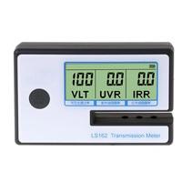 LS162 Window Tint Meter Solar Film Transmission Meter VLT UV IR Rejection Tester