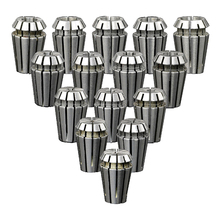 15pcs/lot ER11 Collet chuck Spindle 800W lathe tool holder from 1-7MM for CNC cutting milling machine er11 6mm 6 35mm 6 5mm 7mm 1 4 1 4 spring collet set for cnc engraving machine