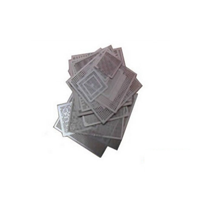 Direct heat NVIDIA video chips stencils 43pcs for NVIDIA graphics card chips