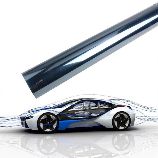 Nano Céramique Fenêtre Teinte Film Teinter Bleu Clair 75 50 Cm X