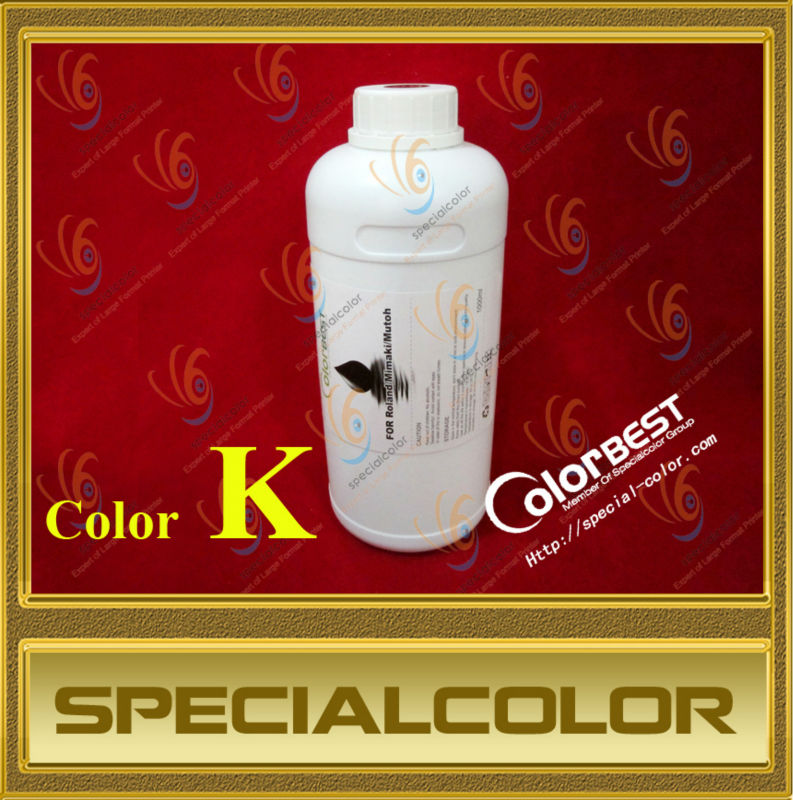 Sublimation ink in bottle 1000ml color K for Roland/Mimaki/Mutoh/Epson DX4/DX5 Printer Ink hot sale 1000ml 4 color eco solvent ink in bottle compatible for roland mimaki mutoh printer