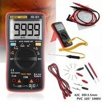 AN8009 True RMS Auto Range Digital Display Multimeter NCV Ohmmeter AC/DC Voltage Ammeter