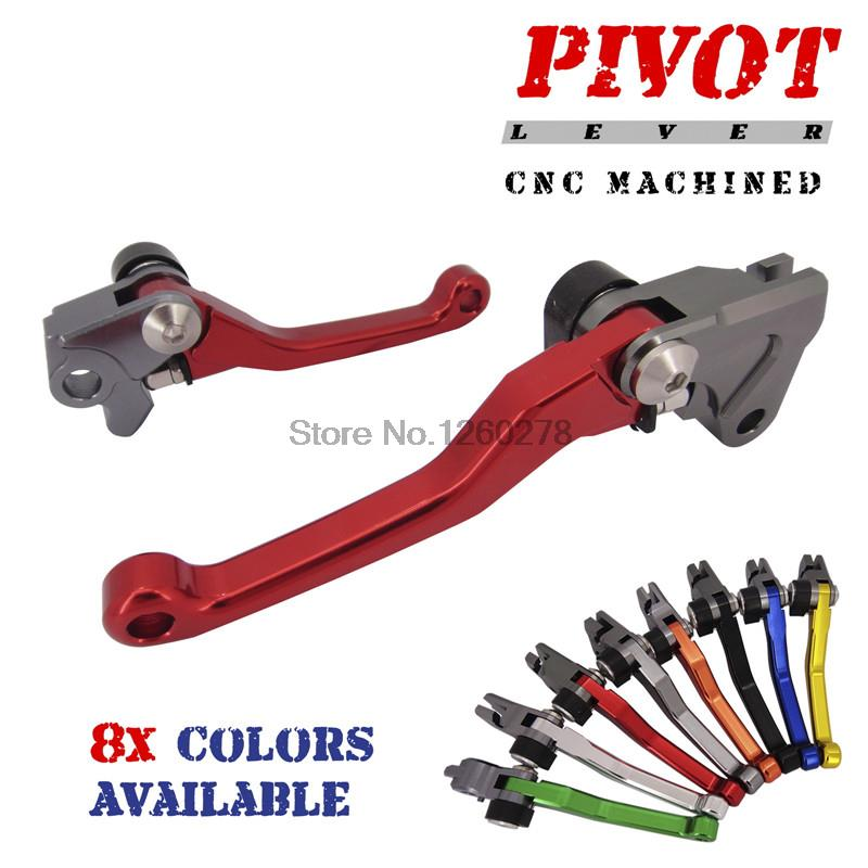 H2CNC Pivot Brake Clutch Levers For <font><b>Beta</b></font> 250RR <font><b>300RR</b></font> 2T 350RR 4T 2013-2015 400 RR 450 498 RR 4T 390 430 480 RR 4T X-Trainer image