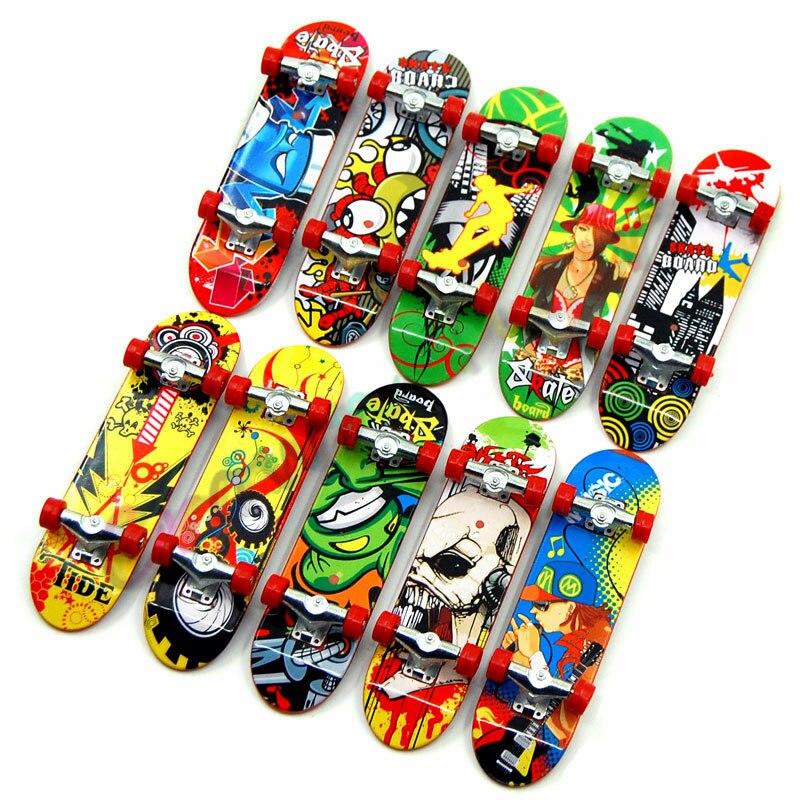 print professional Alloy Stand FingerBoard Skateboard Mini Finger boards Skate truck Finger Skateboard for Kid Toy Children Gift lingerie top
