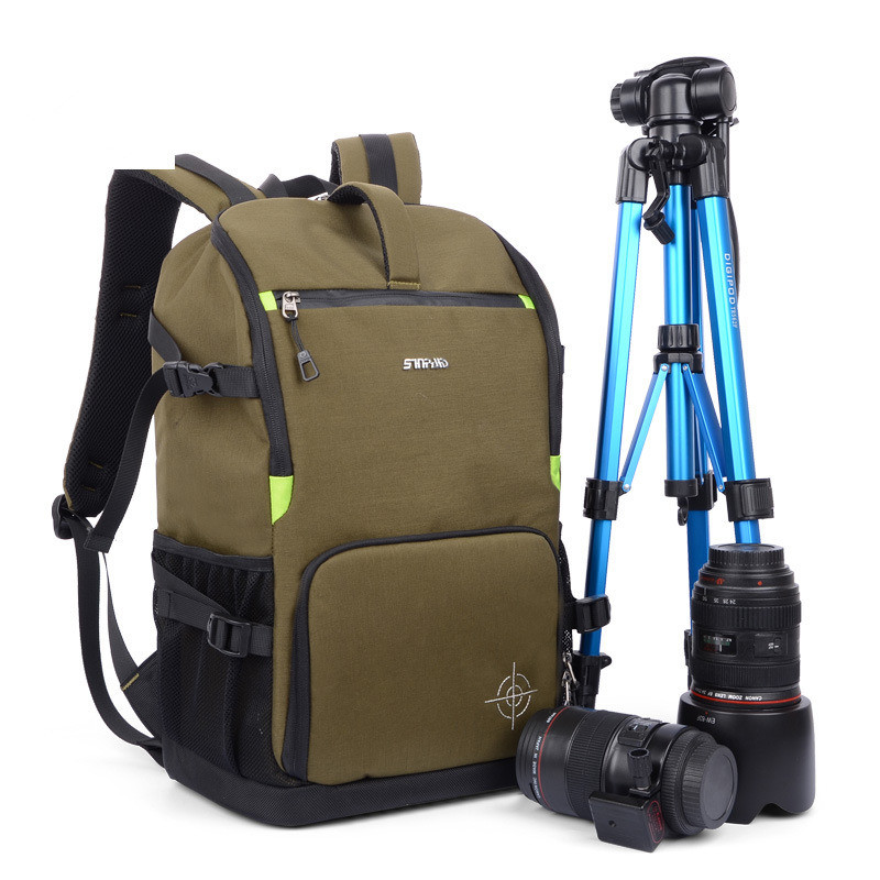 2017 New Arrival DSLR Camera Photo Backpack Padding Divider Insert with 15 Laptop Pack Travel Bag for Canon Nikon Sony