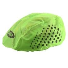 Светоотражающий чехол для велосипедного шлема, высокая видимость, водонепроницаемый велосипедный шлем, дождевик, Mtb дорожный велосипедный шлем