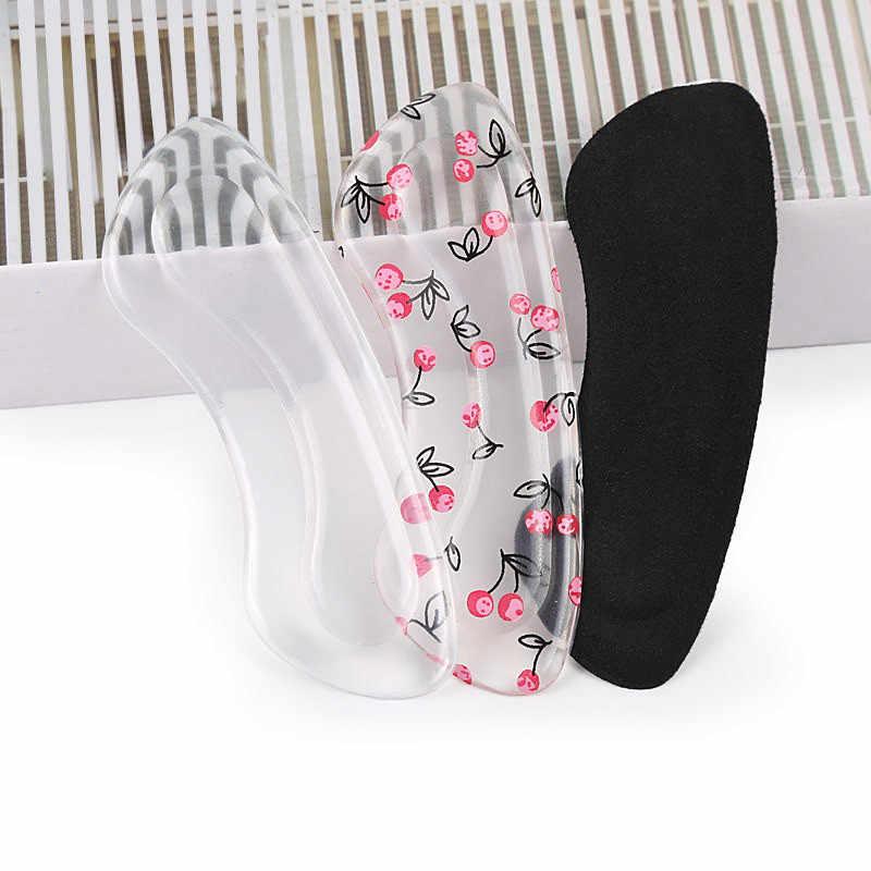 2019 ใหม่ซิลิโคนเจลผู้หญิงส้น Inserts protector Foot feet Care ใส่รองเท้า Pad Insole Cushion