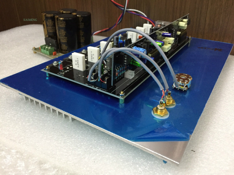 High power rear bass special power amplifier board 500W subwoofer board цена