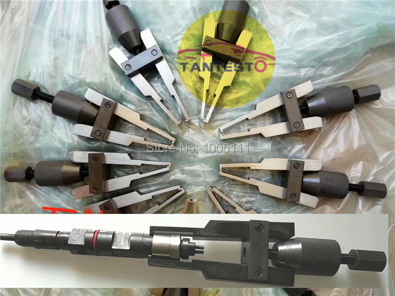 diesel fuel common rail injector dismounting puller tool for all brands injectors without slider hammer diesel fuel common rail injector dismounting puller tool for all brands injectors common rail injector removal tool