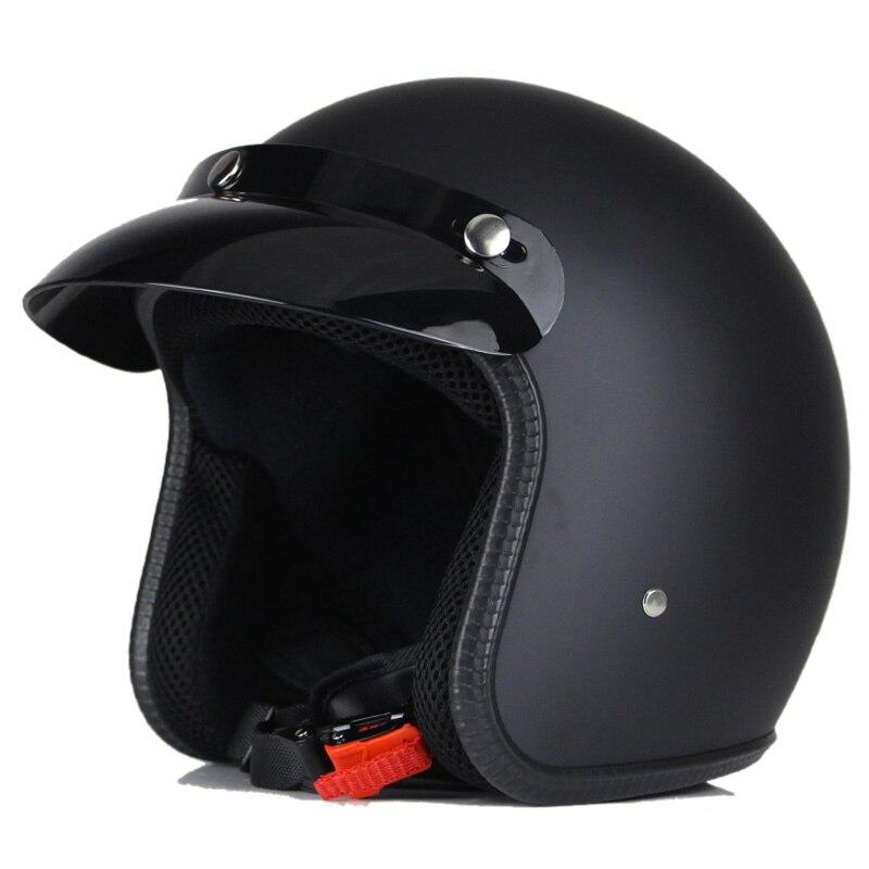 Fashion Retro Vintage Men Motos Motor Bike Helmets Women Scooter Motorcycle Helmet Unisex For Harley