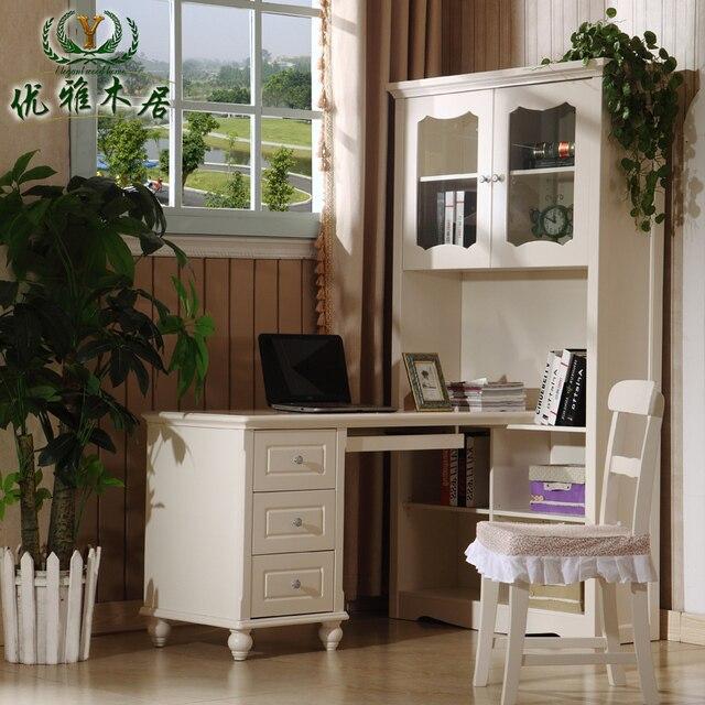 Korean Bookcase Desk Corner Computer Bedroom Study Table Teen