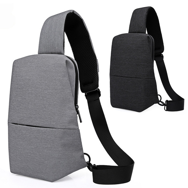 Mens Chest Pack Portable Shoulder Satchel Travel Sling Bag Shoulder  Messenger Bags Waterproof Men Women Crossbody Bag for Ipad 76f931012