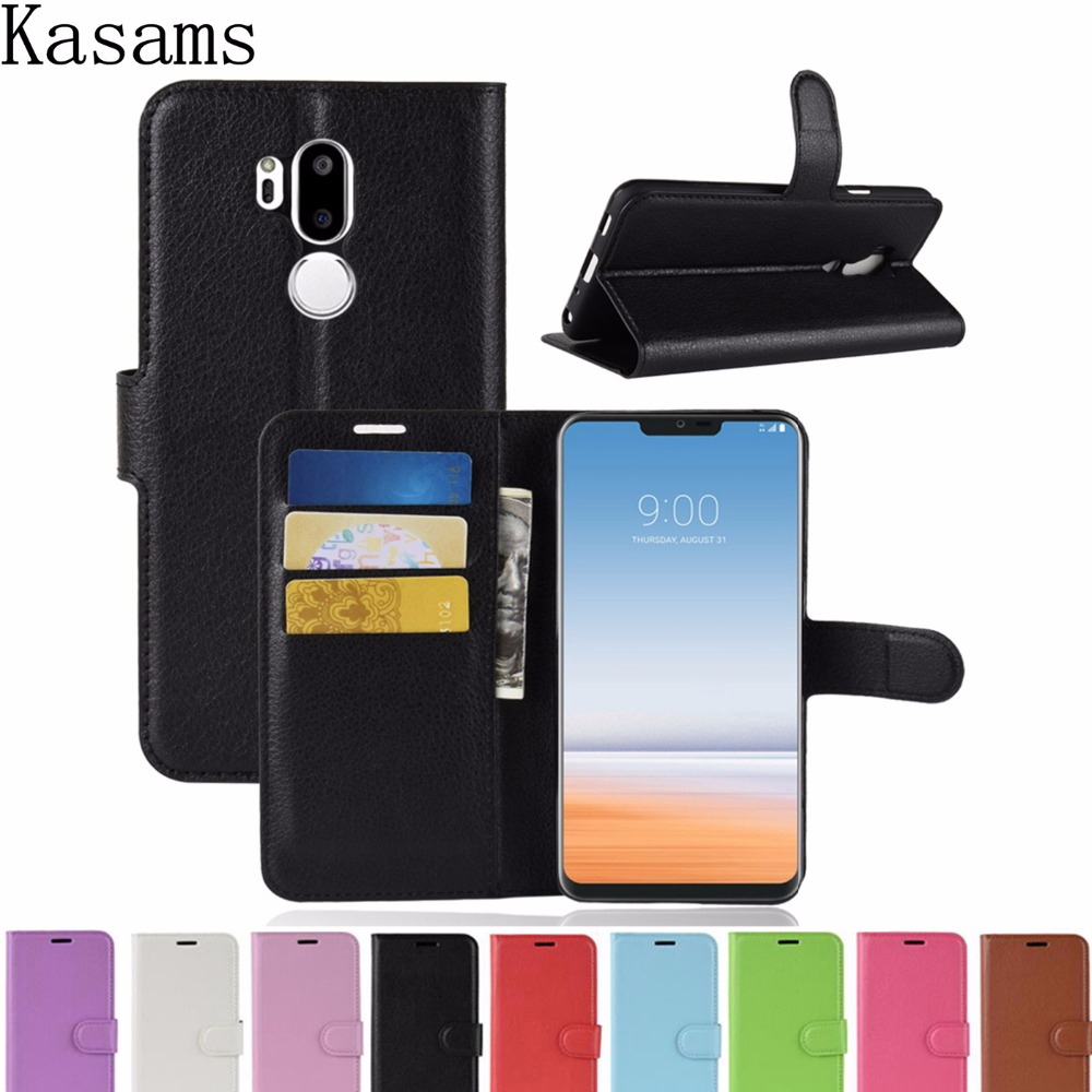For LG G7 Fit G7 ThinQ Q7 Flip Case For LG V40 ThinQ