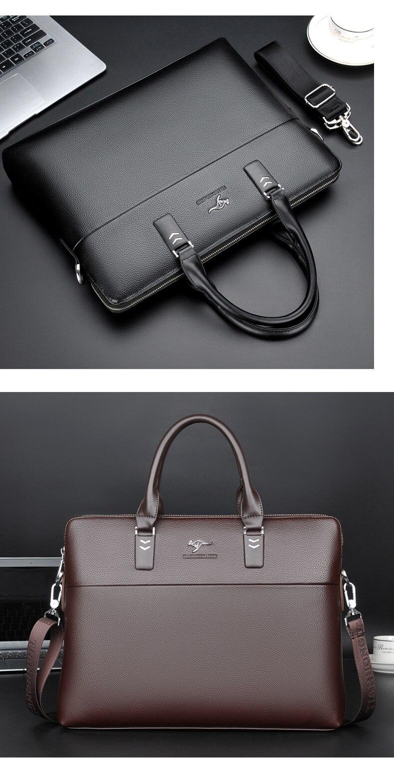 HTB1f7P6f.FWMKJjSZFvq6yenFXah TIANHONGDAISHU Men Casual Briefcase Business Shoulder Leather Messenger Bags Computer Laptop Handbag Men's Travel Bags handbags
