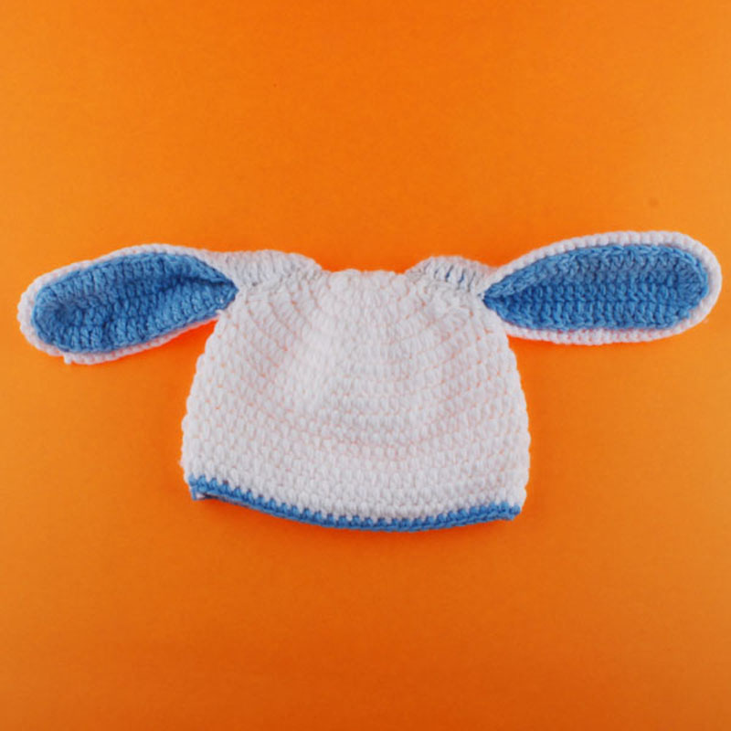 Newborn Easter Bunny Rabbit Outfit Crochet Pattern Photography Props