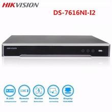 Hikvision DS-7616NI-I2 16CH CCTV NVR HD Video recorder  2SATA Onvif HDMI VGA Playback H.265 up to 12MP Camera Surveillance NVR