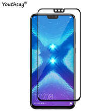1PCS 2.5D Full Glass For Huawei Honor 8X Screen Protector Coverage Protective Film for