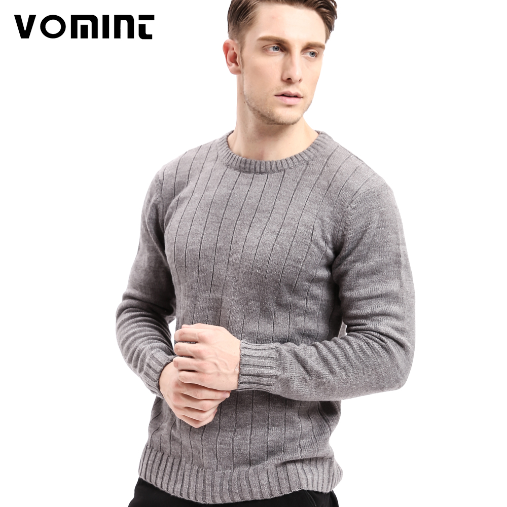 Vomint Top Quality Famous Brand 2019 New Fashion Men Sweaters And Pullovers Criss-Cross Knitting Sweater Men U6VI6C01