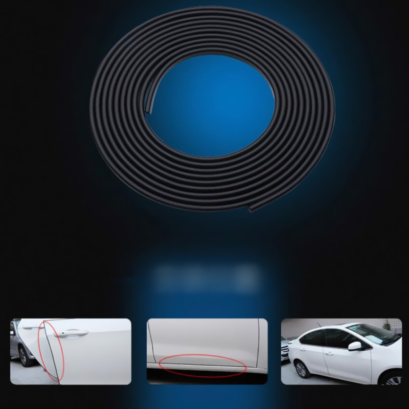 5M Car Styling,Car Door Side Seal Anti-collision For Toyota Camry Highlander RAV4 Crown Reiz Corolla Vios Yaris L