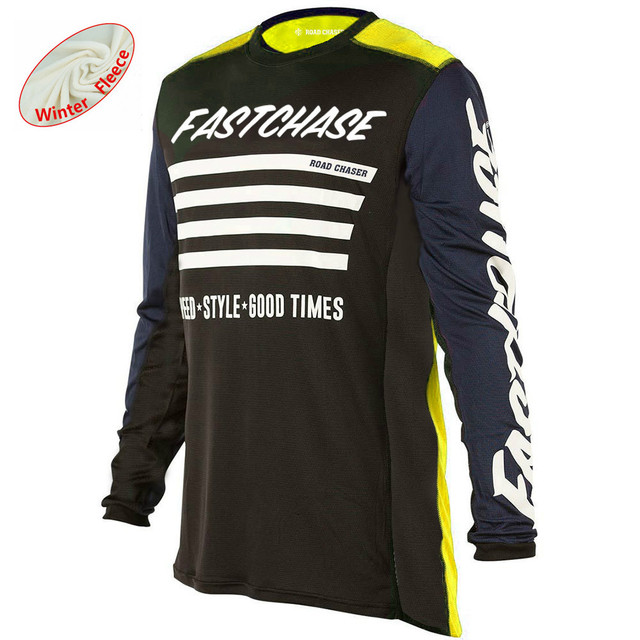 Motocross Jersey Long Sleeve Downhill Mx Clothe Off Road Sportswear  Breathable Moto Gp Shirt MTB Motorcycle Cycling Jerseys 7f115d30d