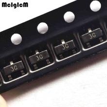 MCIGICM bc857, SOT-23 100 шт./лот триодный транзистор BC857c