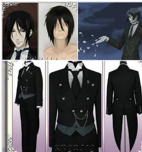 Black Butler Kuroshitsuji Undertaker Cosplay Costume Halloween Christmas In Anime Costumes From Novelty Special Use On Aliexpress