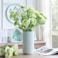 Miz 5 Branches Artificial Flowers Wedding Decoration High Quality Artificial Plants For Home Decoration Accessories No
