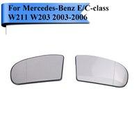 Auto Weitwinkel Erhitzt Rückspiegel Glas Für Mercedes Benz W211 W203 C230 C240 C280 C320 C350 E500 Links/ rechts W120