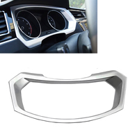 ABS Chrome Dashboard Instrument Panel Gauge Frame Trim For Volkswagen VW Tiguan L TiguanL MK2 2017