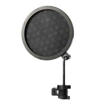 Double Layer Studio Microphone Microfone Mic Wind Screen Filter/ Swivel Mount / Mask Shied For Speaking Recording Microphones