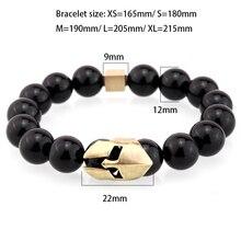 Sparta Charm bracelet Natural stone